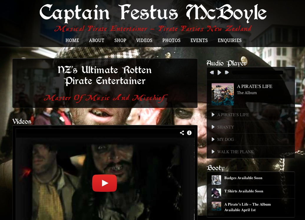Captain Festus Mcboyle
